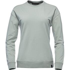 Black Diamond Basis Sweat-shirt manches longues à col ras-du-cou Femme, atmosphere